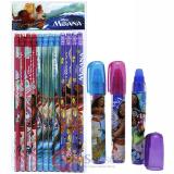 Disney Moana Pencil Fragrance Eraser 15pc  Set