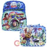 "Disney Toy Story 12"" Small  School Backpack with  Lunch Bag Set"