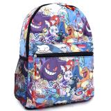 Pokemon Large School Backpack Multi Characters All Over
