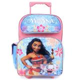 "Moana Large School Rolling  Backpack 16"" Roller Bag"