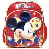 "Disney Mickey Mouse School Backpack 10"" Small Toddler Bag M28"