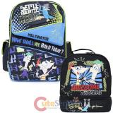 Phineas and Ferb School Backpack Lunch Bag 2pc Set