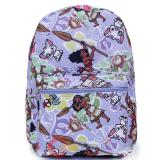 Disney Moana Large School Backpack All Over Prints Bag Purple