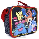Pokemon School Lunch Bag Insulated Snack Bag Black Group