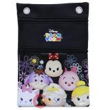 Disney Tsum Tusm Passport Bag Body Shoulder Cross Bag - Black