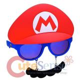 Super Mario Sunglasses Shades Halloween Mask Eye Glasses