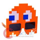 Pacman Orange Ghost Sunglasses Shades Halloween Mask Eye Glasses