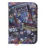 Marvel Comics Passport Case Cover Black