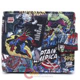 Marvel Comics All Over Print Bi-Fold Wallet