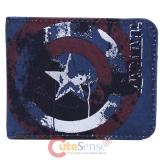 Marvel Civil War Captain America Bi-Fold Wallet