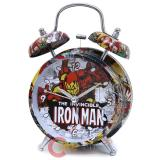 Marvel Comics Iron Man Bell Alarm Clock