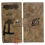Naruto Leather Long Wallet