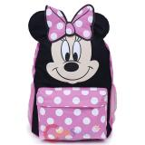 "Disney Minnie Mouse with Ear School Backpack 16"" Bag"