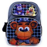 Five Nights at Freddys Large Backpack 16in Book Molded Freddy