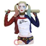Suicide Squad Harley Quinn Bust Coin Bank 3D Figure Bank