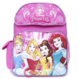 Disney Princess School Backpack 14in Medium Bag Floral pink