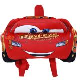 Cars Mcqueen Flat Plush Doll Backpack