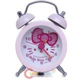 Sanrio Hello Kitty Face Stainless Mini Table Alarm Clock