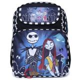 Nightmare Before Christmas Large School Backpack Bag -Twilight