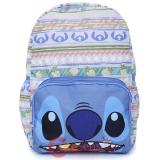 Lilo and Stitch Large Backpack Hawaiian Blue