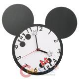 Disney Mickey & Minnie Shaped Deco Clock