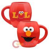 Sesame Street Elmo Oval Ceramic Mug