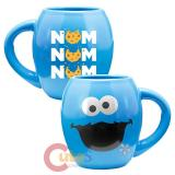Sesame Street Cookie Monster Oval Ceramic Mug