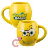 SpongeBob SquarePants Oval Ceramic Mug