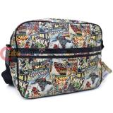 Marvel Comics Heroes Retro Messenger Bag Shoulder Body Cross Bag