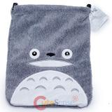My Neighbor Totoro Fluffy Plush Tie String Pouch Bag