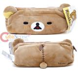 San X Rilakkuma Plush Doll Pencil Case Pouch Bag