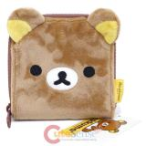 Rilakkuma Plush Coin Purse Wallet