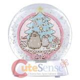 Pusheen Christmas Waqterdazzler Globe
