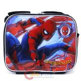 Marvel Spiderman School Lunch Bag Snack Box Home Coming