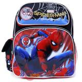 "Marvel Spiderman School Backpack 12"" Small Bag Home Coming"