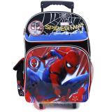 "Marvel Spiderman School Roller Backpack 16"" Bag Home Coming"
