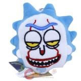 Rick and Morty Ghost Rick Plush Key Chain