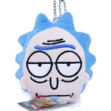 Rick and Morty Rick Plush Key Chain