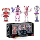 Five Nights At Freddys Vinyl Figure Set -Sister Location