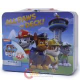 Paw Patrol Tin Box with Puzzle Set