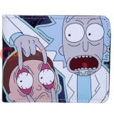 Rick and Morty Bi-Fold Wallet Eyes Open