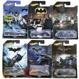 Hot Wheels Batman 2015 Exclusive Set of 6 Die-Cast Vehicles