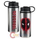 Marvel Deadpool Vacuum Insulated Stainless Steel Bottle