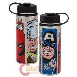 Marvel Comics 18 oz. Vacuum-Insulated Stainless Steel Water Bottle
