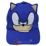 Sonic The Hedgehog Sonic Face Youth Baseball Hat