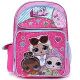 "LOL Surprise Large School Backpack 16"" Book Bag"