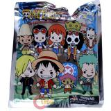 One Piece 3D Foam Figural Key Ring *Mystery Blind Bag * Series 1