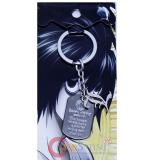 Death Note L Key chain -Dog Tag