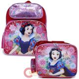 Disney Princess Snow White 12in School Backpack Lunch Bag 2pc Set