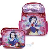 Disney Princess Snow White Large School Backpack Lunch Bag Set